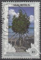 Mauritius, 1989-1997 - 1r Mangrove - Nr.689 Usato° - Mauritius (1968-...)