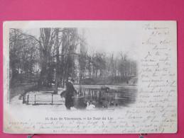 75 - Paris - Bois De Vincennes - Le Tour Du Lac - Précurseur 1902 - Scans Recto-verso - Parcs, Jardins