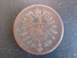 Allemagne, 2 Pfennig - Wilhelm I Type 1 - Petit Aigle, 1876 H, TTB - [ 2] 1871-1918: Deutsches Kaiserreich