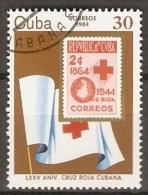 C U B A      -      CROIX - ROUGE    -  .   Oblitéré - Rotes Kreuz