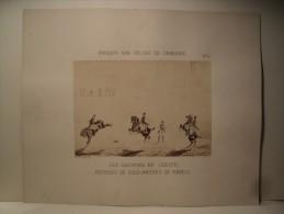 5 Photographies Cavalerie Ecole De Saumur Photographe Bourgoin D´Après Dessins G. Gasser. Ca1870 - Anciennes (Av. 1900)