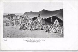 SYRIE - Groupe De Bedouins Dans Leur Tente - Syrie
