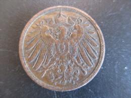 Allemagne, 2 Pfennig - Wilhelm II Type 2 - Grand Aigle, 1911 J, TTB - [ 2] 1871-1918 : German Empire