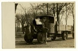 AK  Foto  Altes Auto - Weltkrieg 1914-18