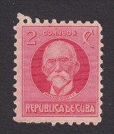 Cub, Scott #309, Mint Hinged, Maximo Gomez, Issued 1930 - Neufs