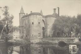 Bruges La Porte Sainte Croix Regionalisme Belgique Ancienne Photographie 1920 Tirage Ulterieur