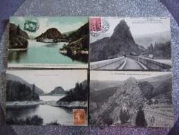 BARRAGE DE ROCHETAILLEE  / JOLI LOT DE 15 CARTES  / TOUTES LES PHOTOS - Cartes Postales