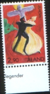 Aland 1997  Europa Tales And Legends  1v Complete Set ** MNH - Aland