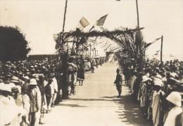 Fete Au Port De Morombe Madagascar Ancienne Photographie Diez 1924 - Africa