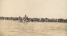 Rade De Morombe Embarquement Madagascar Ancienne Photographie Diez 1924 - Africa