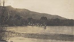 Riviere Manandara Passage A Gué Madagascar Ancienne Photographie Diez 1924 - Africa