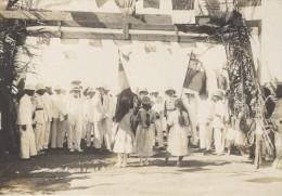 Reception Au Port De Boanamary Madagascar Ancienne Photographie Diez 1924 - Africa