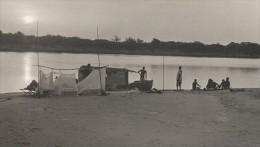 Attilio Gatti Expedition Africaine AEF Campement Des Explorateurs Ancienne Photo 1936 - Africa