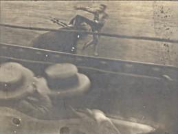 Espagne Tarragone Corrida Mise A Mort Ancienne Photo 1914