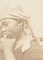 Niger Niamey Scene De Marché Tete De Femme Ancienne Photo Instantanée 1929 - Africa