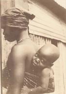 Niger Niamey Scene De Marché Mere Et Son Enfant Ancienne Photo Instantanée 1929