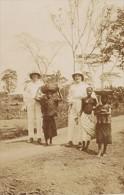 Niger Niamey Scene De Rue Ancienne Photo Instantanée 1929 - Africa