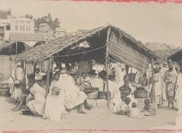 Madagascar Tananarive Scene De Marché Ancienne Photo 1900