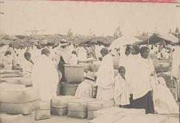 Madagascar Tananarive Scene De Marché Ancienne Photo 1900 - Africa