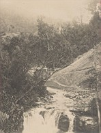 Madagascar Region De L'Isalo Riviere Cascade Ancienne Photo 1900 - Africa