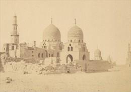 Egypte Le Caire Tombeaux Des Mamelouks Ancienne Photo Fiorillo 1880 - Africa
