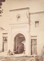 Maroc Tanger Porte Mauresque Ancienne Photo 1880