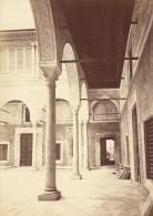 Tunisie Tunis Cour Mauresque Ancienne Photo 1880 - Africa
