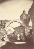 Tunisie Tunis Le Vieux Souk Ancienne Photo 1880