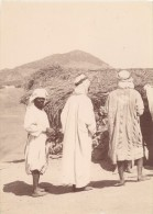 Tunisie Groupe Homme Ancienne Photo 1880 - Africa