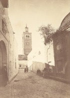 Tunisie Tunis Mosquee Vieille Rue Ancienne Photo 1880 - Africa