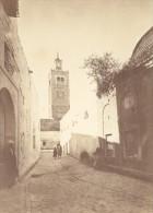 Tunisie Tunis Mosquee Vieille Rue Ancienne Photo 1880