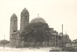 Senegal Dakar Cathedrale En Construction Ancienne Photo 1935 - Africa