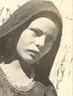 Egypte Jeune Chretienne De Koussia Ancienne Photo 1940 - Africa