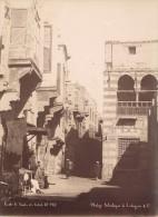 Egypte Le Caire Ecole De Souk El Silah Ancienne Photo Legekian 1880 - Africa