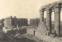 Egypte Louxor Le Temple Lehnert & Landrock Photo 1930