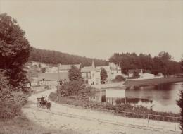 Flers Sur Orne Scene Vie Quotidienne Ancienne Photographie Instantanée Amateur 1900 - Photographs