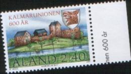 Aland 1997  600° Anniv Kalmar Union - 600 Anniv. Dell'unione Di Kalmar   1v Complete Set ** MNH - Aland
