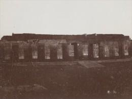 Egyptologie Temple Ruines Egypte Ancienne Photo 1900 - Africa