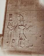 Egyptologie Philae Temple Ruine Fouille Egypte Ancienne Photo 1900 - Africa