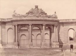 Chantilly Château Le Parc Architecture France Ancienne Photo 1890 - Photographs