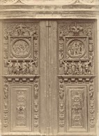 Rouen Eglise Saint Maclou Porte Jean Goujon Architecture France Ancienne Photo 1890 - Photographs