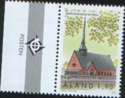 Aland 1997 Mariehamn Church - Chiesa Di Mariehamn   1v Complete Set ** MNH - Aland