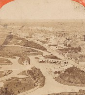Dieppe Vue Générale Normandie France Ancienne Photo Stereo Neurdein 1880 - Stereoscopic