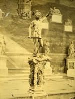 Florence Loggia Dell Orgagna Italie Ancienne Photo Albuminée 1880 - Photographs