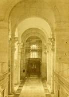 Plombieres Interieur Des Thermes France Ancienne CDV Photo Valecke 1870 - Photos
