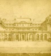 Paris Palais Royal France Ancienne Photo Stereo 1870 - Stereoscopic