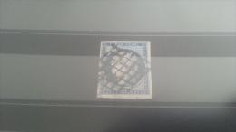 LOT 258551 TIMBRE DE FRANCE OBLITERE N�4 VALEUR 60 EUROS