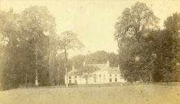 Belgique Château Parc Ancienne Photo CDV Anonyme 1870 - Photographs