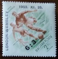 HONGRIE - YT Aérien N°159A - Football / Sports - 1953 - Neuf - Neufs