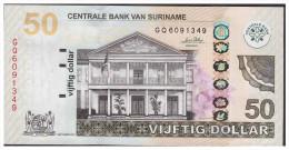 Surinam / Suriname 2010 Banknote P160 50 SRD UNC - Munten & Bankbiljetten
